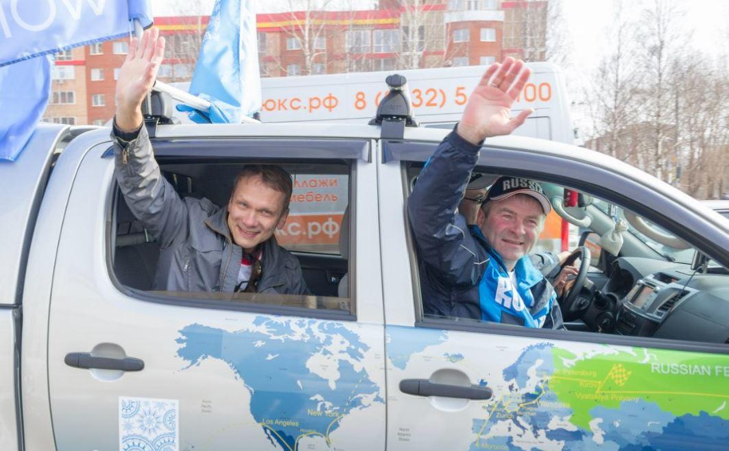 Участники кругосветной экспедиции Hat Master возвращаются в Киров