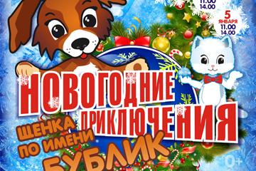 Мюзикл для всей семьи -  «Новогодние приключения щенка по имени Бублик»