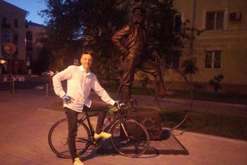 Продолжается велопутешествие Юрия Ташлыкова. День 19-21-й