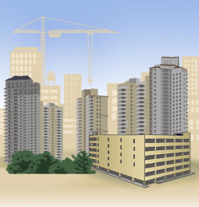 В Кировской области объем строительства в 2008 году возрос на 1,3%